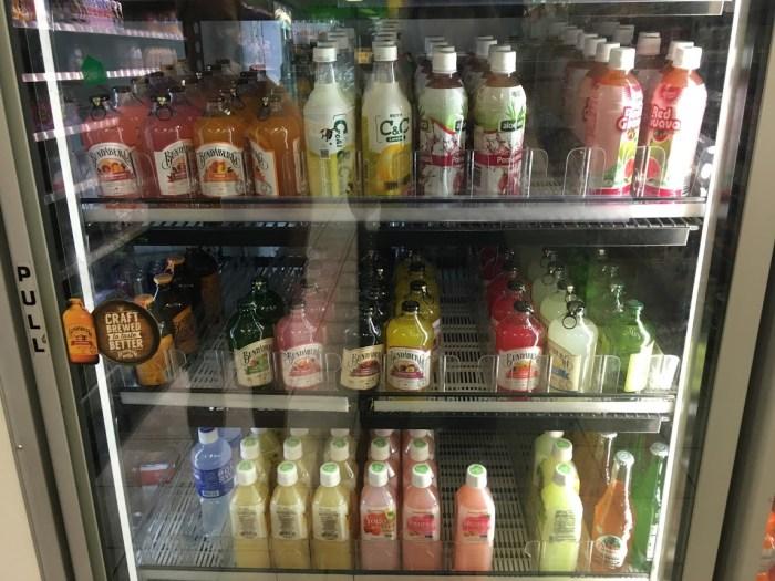 Australian drinks in a cooler Australia travel tips Bundaburg vacation
