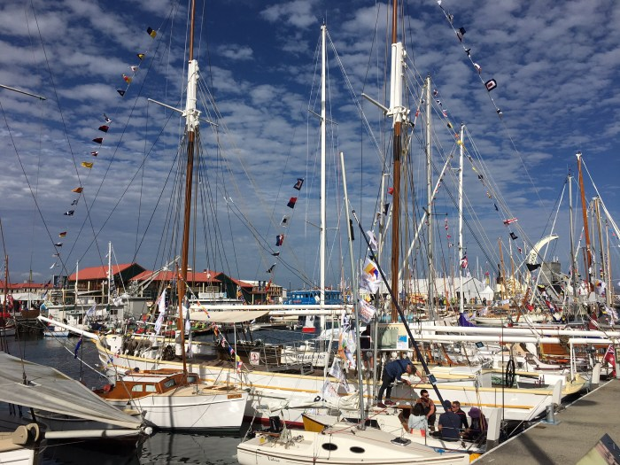 Hobart harbor Tasmania Australia travel costs vacation boats