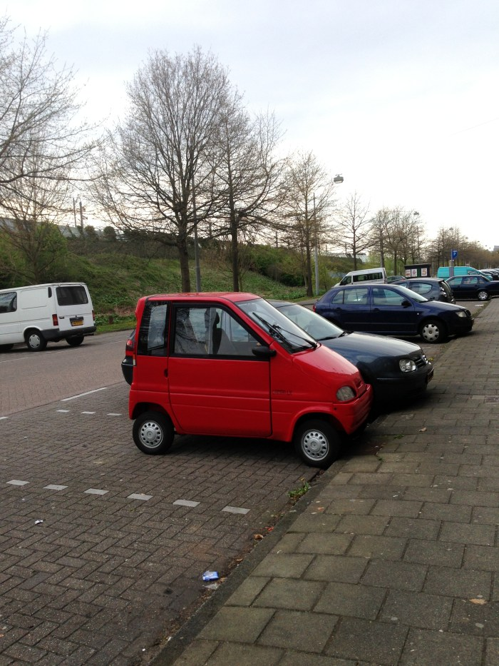 Tiny European car