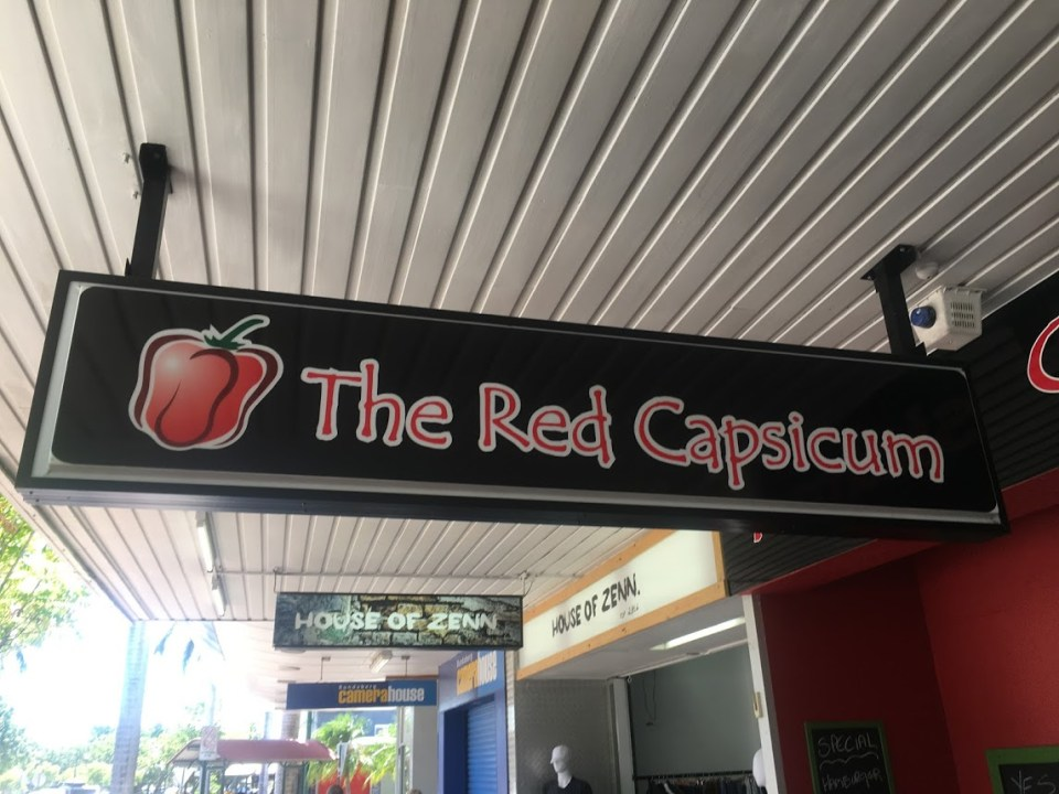 The Red Capsicum sign Australia travel tips vacation