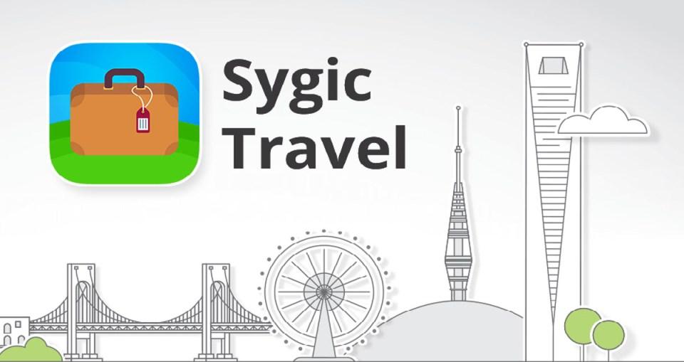 Sygic Travel Logo, travel apps