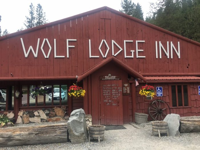 Wolf Lodge restaurant is perfect for killing time in Coeur d'Alene, Idaho