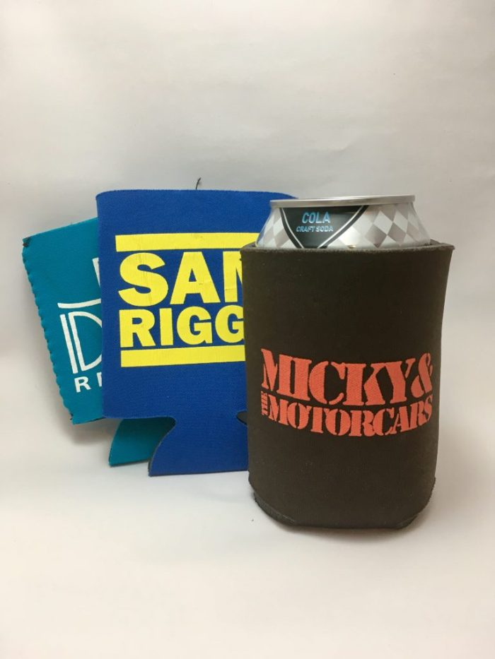 band koozies summer music festival preparation