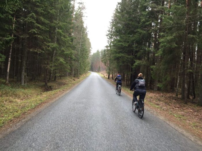 Biking in Estonia