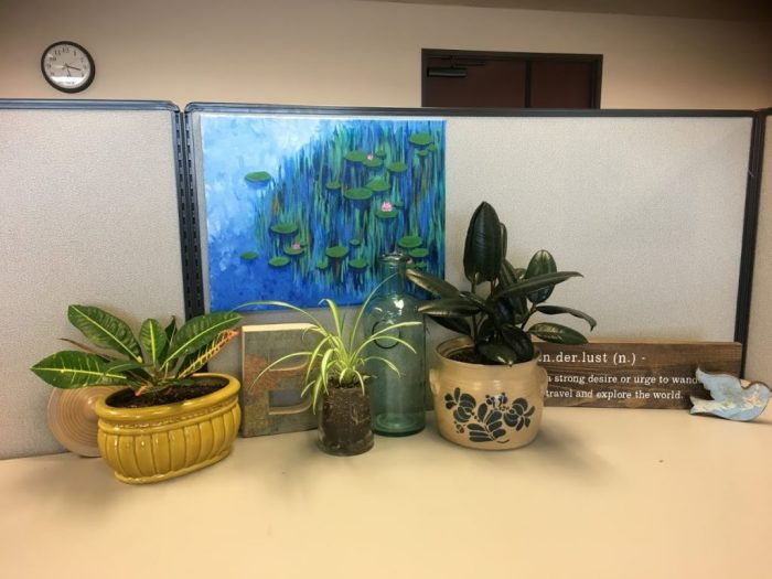 cubicle decorations, work-life balance