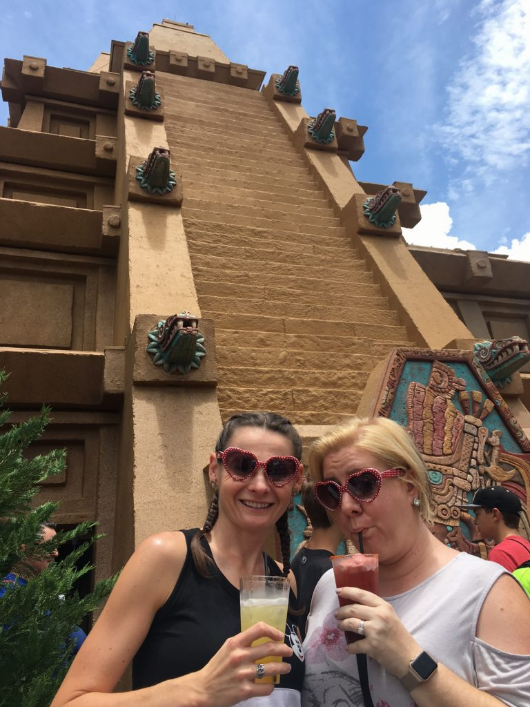 Drinking in Mexico in Epcot, Disney world as an adult