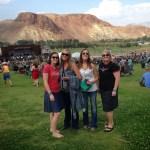 Four gals at BBR in Challis, Idaho