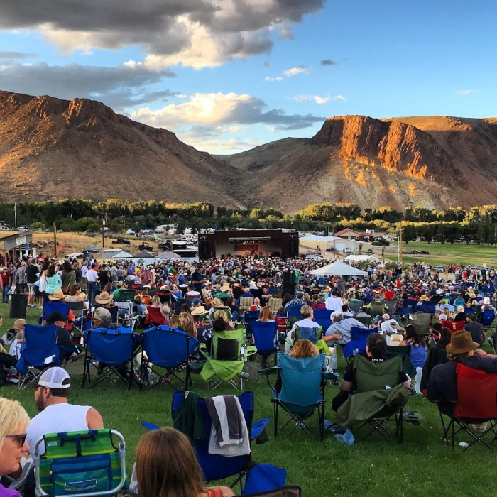 BBR in Challis, Idaho, new life to old adventures, outdoor concert, Braun Brothers Reunion