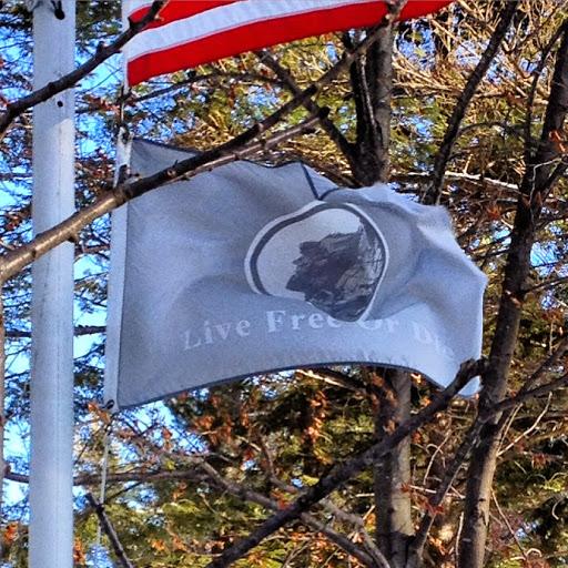 NH Flag and motto