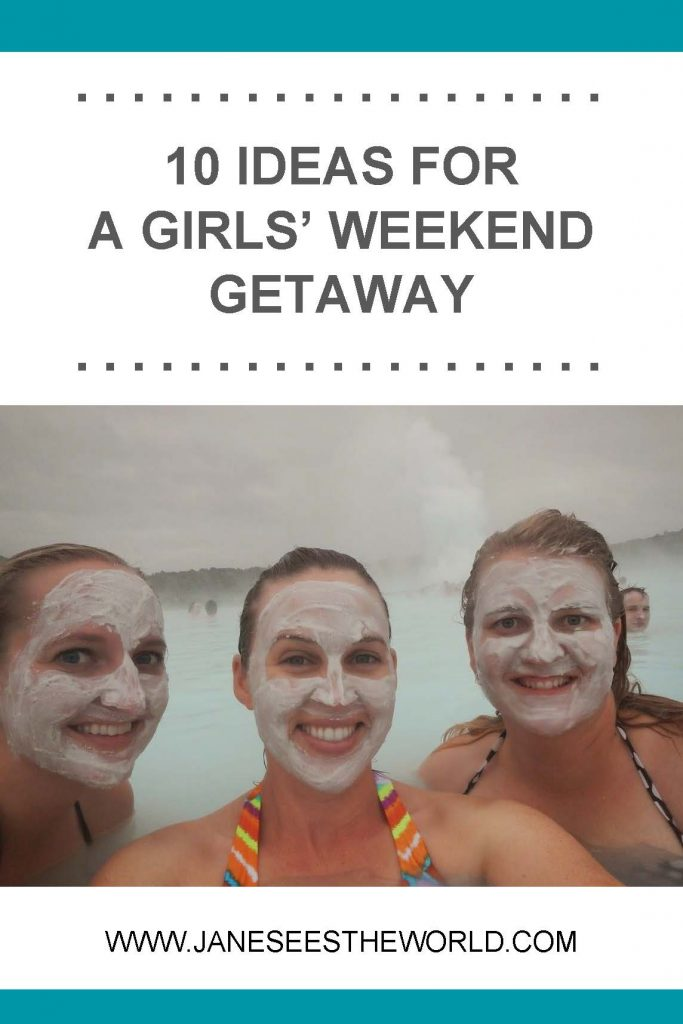ideas for a girls' weekend at the blue lagoon in iceland