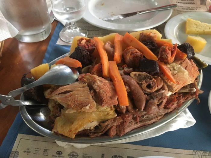 Cozido das Furnas stew, Azores