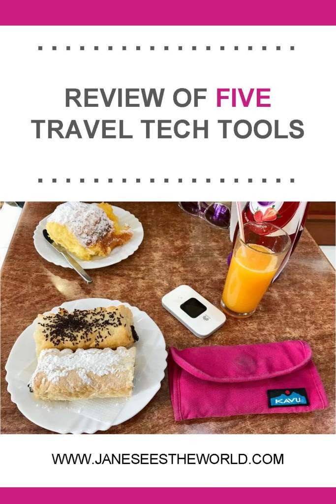 travel technology review tech tools