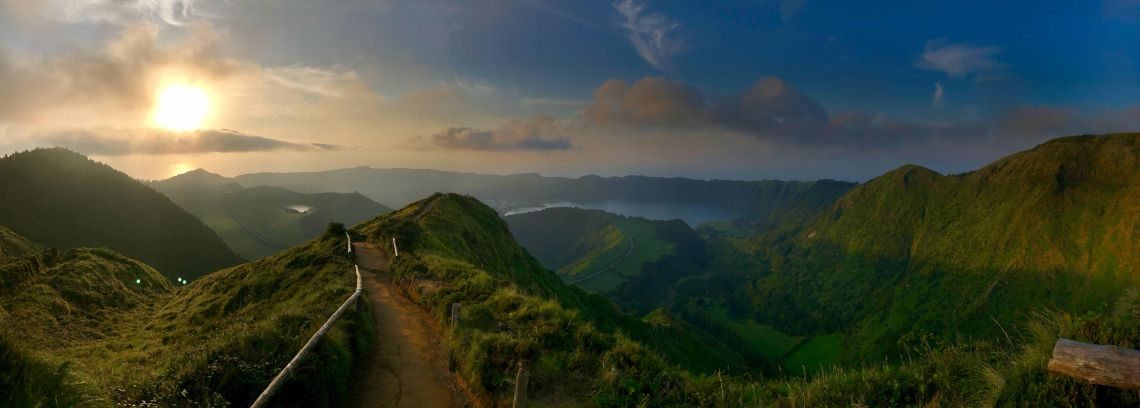 Azores at dusk, where to go on your next vacation