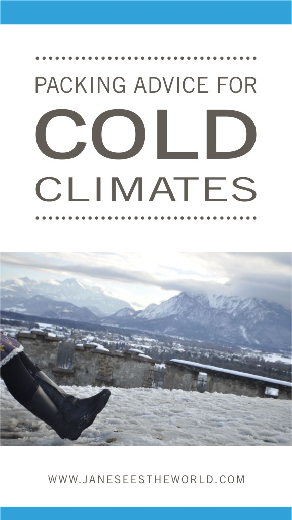 packing advice cold climate women travelers