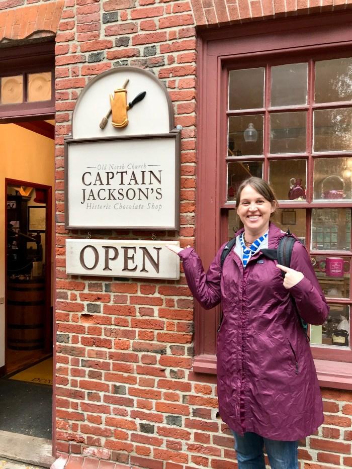 Captain Jackson's Boston Freedom Trail
