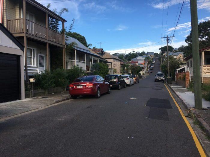 Street in Brisbane Australia thanks to travel thanksgiving friends women travelers