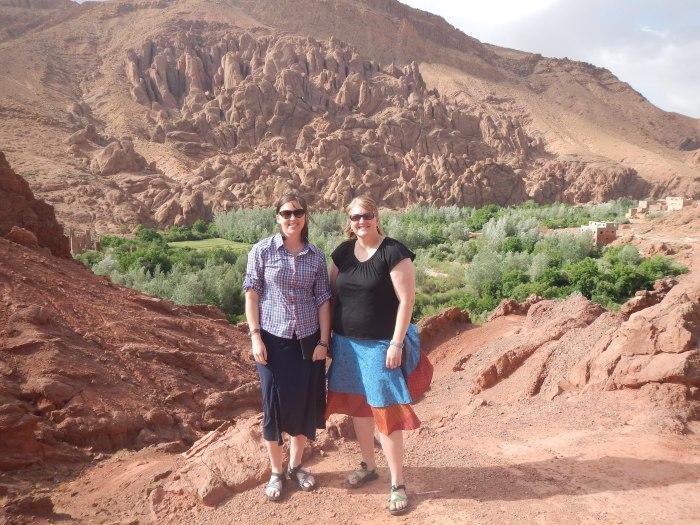 Posing in Morocco