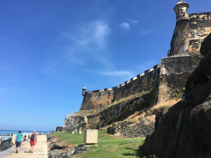 Blue skies, San Juan, Puerto Rico