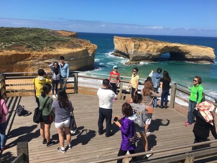 Australia, great ocean road, tourist, not-so-fun travel