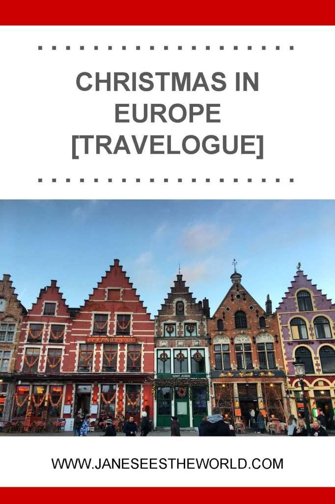 Bruges, Belgium, Christmas