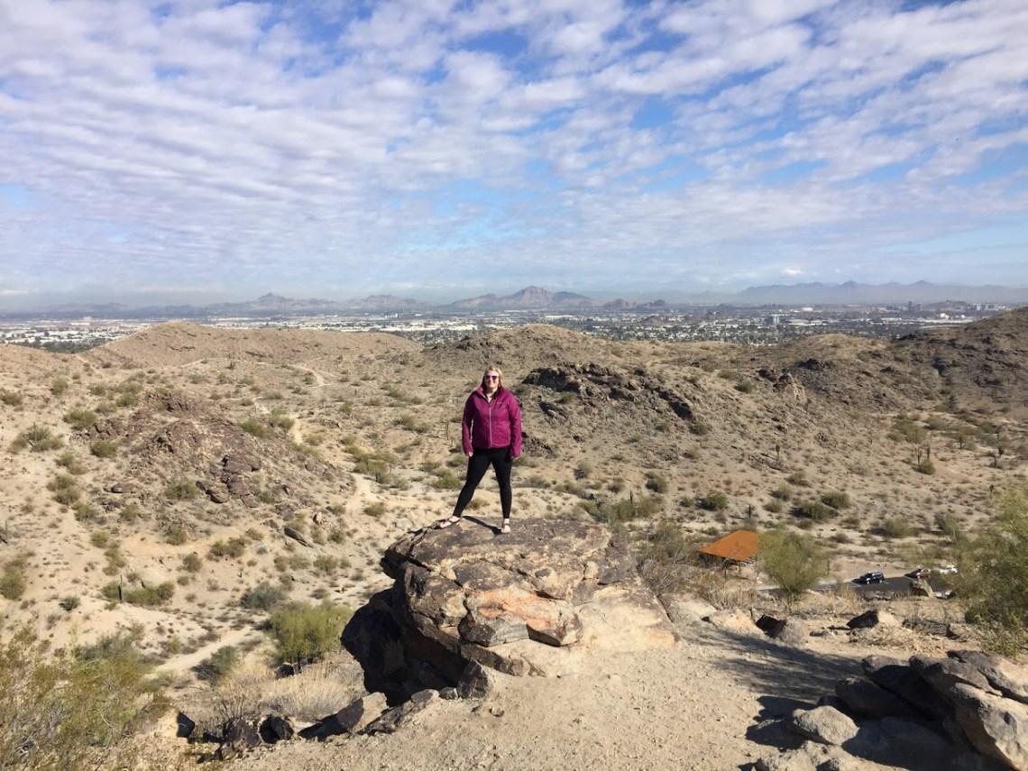 Hiking South Mountain Arizona