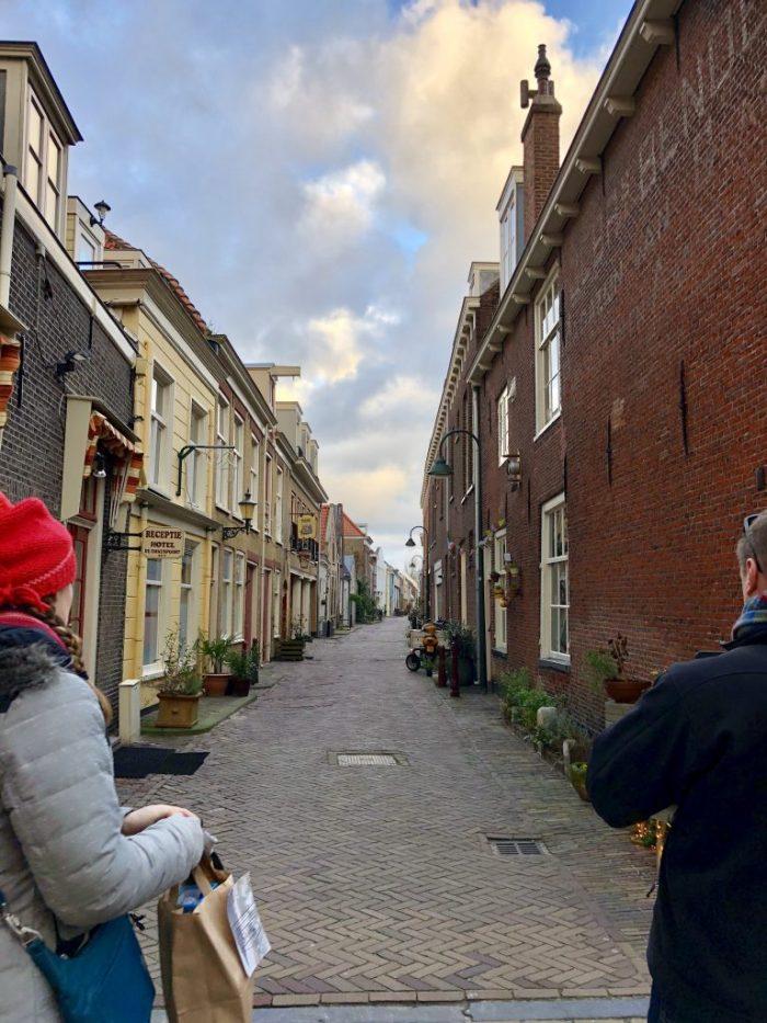 Delft Netherlands Holland December European Christmas