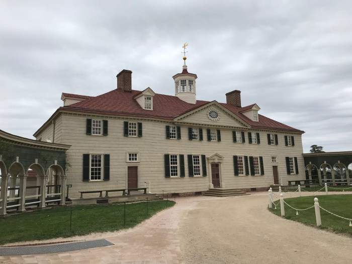 Mt. Vernon places in DC to visit away from the Mall