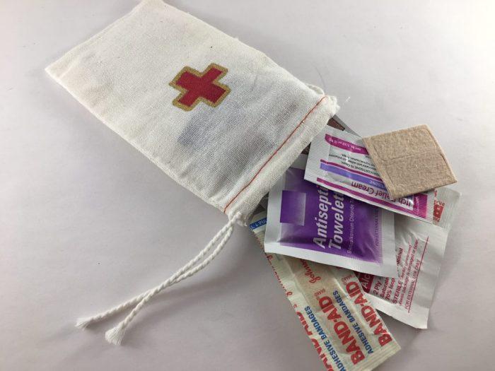 DIY first aid kit cloth bag