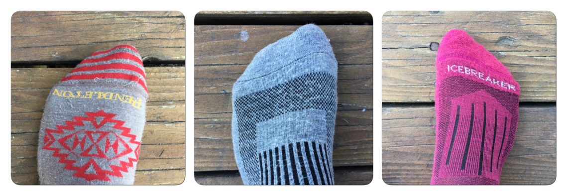 wool sock comparison for travel