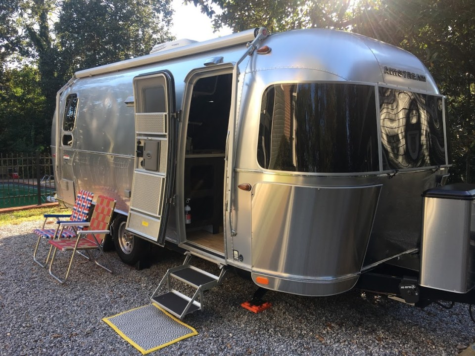 unique homes on airbnb airstream mississippi