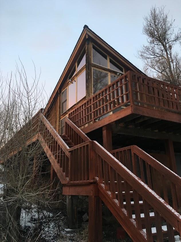 unique homes on airbnb cabin Driggs Idaho