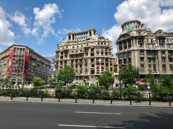 Buildings in Bucharest