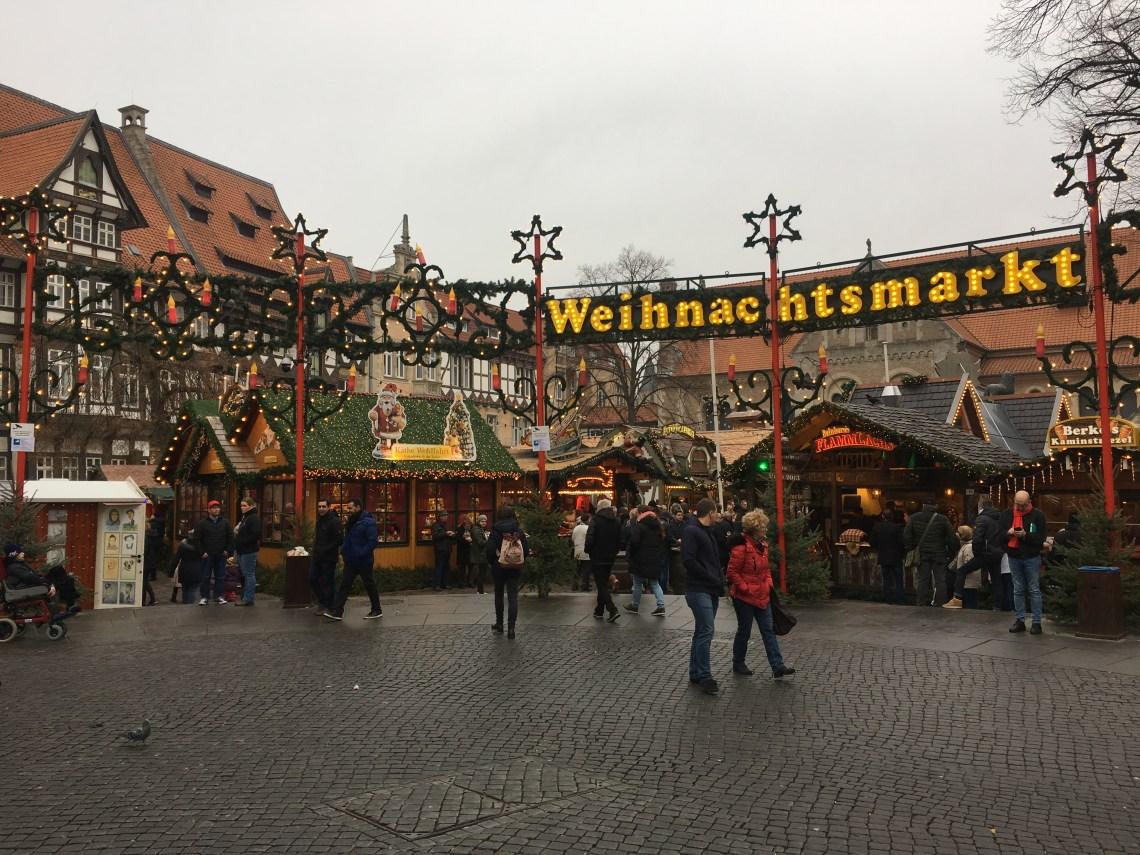 Weinachsmarket = German Christmas Market