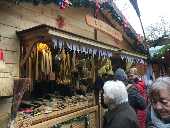 German Christmas Market brushes