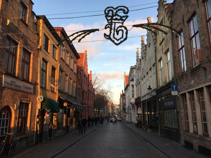 making the most of limited vacation Bruges Christmas Europe