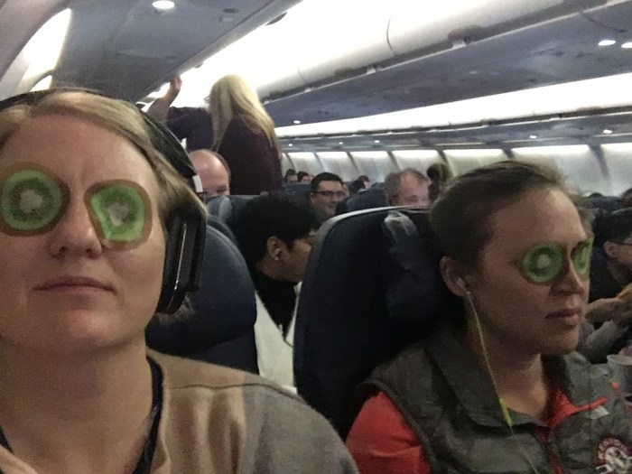 red-eye flight eye mask evolving as a traveler