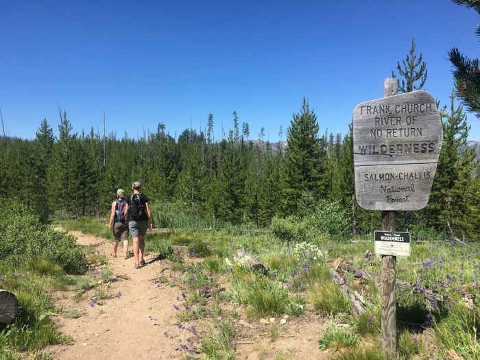 Hiking Idaho what to pack for your vacation