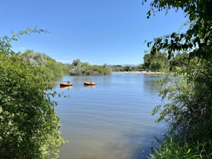 rafting at eagle island state park