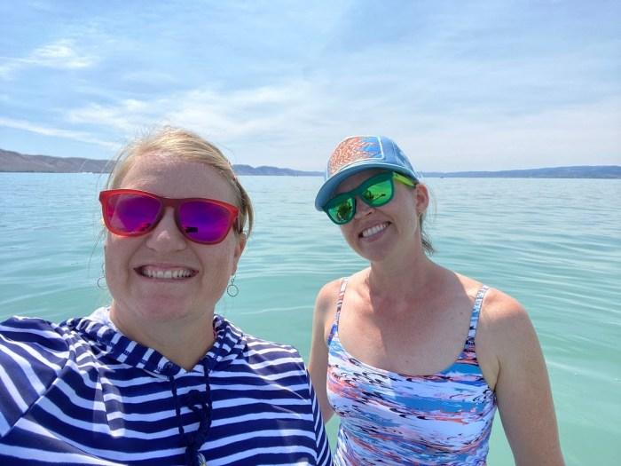 Swimming at Bear Lake