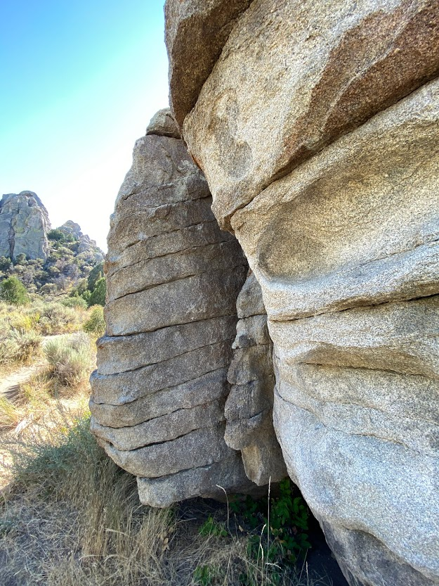 Unique rock formations.
