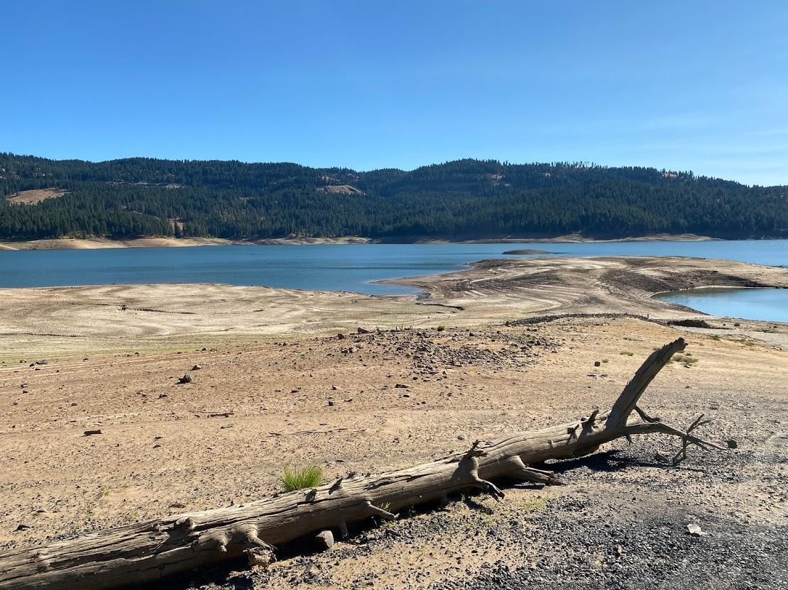 Dworshak State Park reservoir