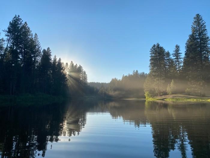 Lake Winchester in Idaho