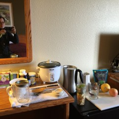 Hotel With Kitchen In Room Benches A Paleo Travelers Secret  Healthy Meals