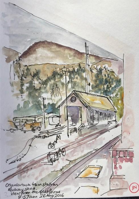 Crianlarach Train Station