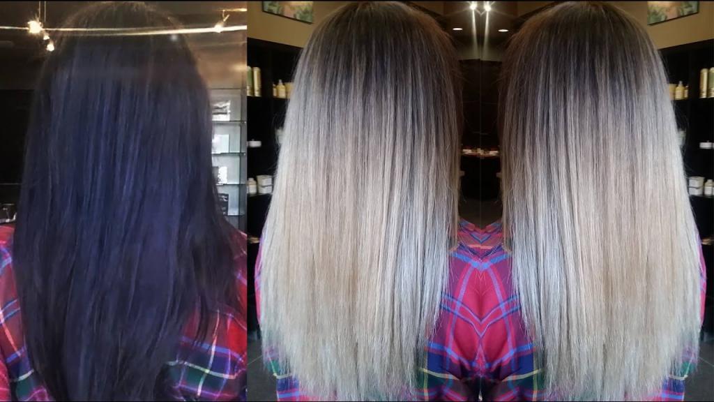 Hur man reparerar håret från mörkt i ljus utan rengöring