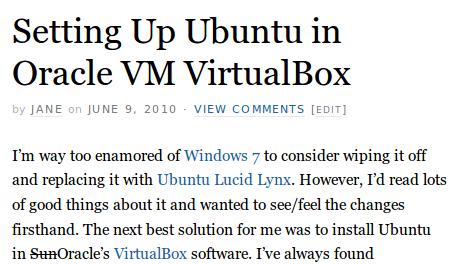 Setting Up Ubuntu in Oracle VM VirtualBox