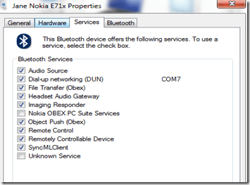 bluetooth profile