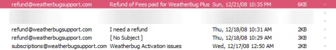 weatherbug-issues