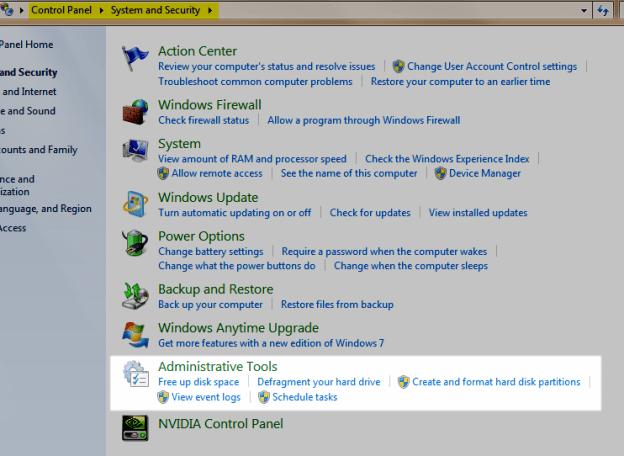 Windows 7 Tune Up Tools