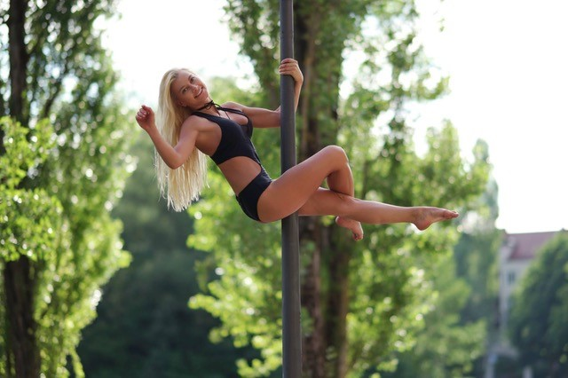 Pole Dancing to Say in Shape